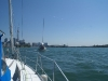 Entering the Western Gap in Toronto Harbour