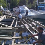 Deck Building at Thompson Harbour